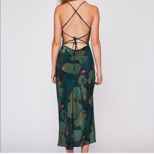 RARE stone cold fox temptation gown in green lily